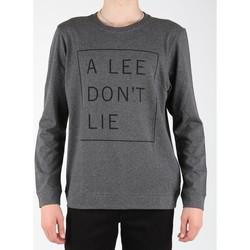 Υφασμάτινα Άνδρας Μπλουζάκια με μακριά μανίκια Lee Dont Lie Tee LS L65VEQ06 grey