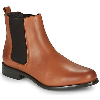 Παπούτσια Γυναίκα Μπότες André CARAMEL Cognac