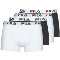 Εσώρουχα Άνδρας Boxer Fila Pack de 4 Black / Άσπρο