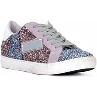 Παπούτσια Γυναίκα Χαμηλά Sneakers At Go GO GLITTER NEWBIG Bianco