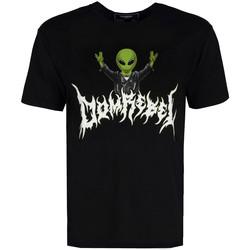 Υφασμάτινα Άνδρας T-shirt με κοντά μανίκια Domrebel  Black