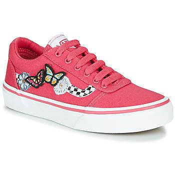 Παπούτσια Κορίτσι Χαμηλά Sneakers Vans WARD Ροζ