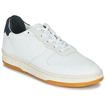 Παπούτσια Χαμηλά Sneakers Claé MALONE Άσπρο / Μπλέ
