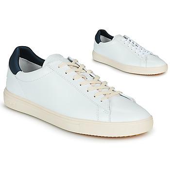 Παπούτσια Άνδρας Χαμηλά Sneakers Claé BRADLEY Άσπρο / Μπλέ