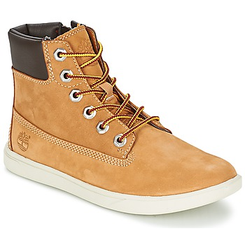 Παπούτσια Παιδί Μπότες Timberland GROVETON 6IN LACE WITH SIDE ZIP Blé