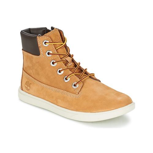 Παπούτσια Παιδί Μπότες Timberland GROVETON 6IN LACE WITH SIDE ZIP Blé