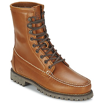 Παπούτσια Άνδρας Μπότες Timberland AUTHENTICS 8 IN RUGGED HANDSEWN Earth / Cuite