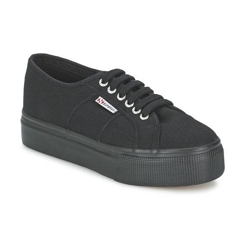 Παπούτσια Γυναίκα Χαμηλά Sneakers Superga 2791 COTEW LINEA Black
