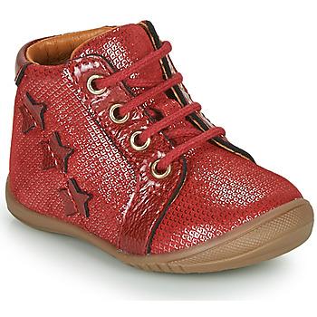 Παπούτσια Κορίτσι Ψηλά Sneakers GBB DAVIA Red