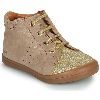 Παπούτσια Κορίτσι Ψηλά Sneakers GBB NAHIA Beige
