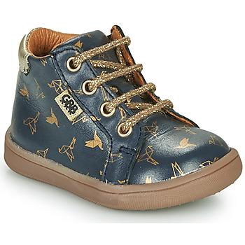 Παπούτσια Κορίτσι Ψηλά Sneakers GBB FAMIA Μπλέ