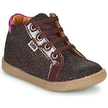 Παπούτσια Κορίτσι Ψηλά Sneakers GBB FAMIA Bordeaux
