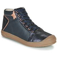 Παπούτσια Κορίτσι Ψηλά Sneakers GBB ORENGETTE Μπλέ