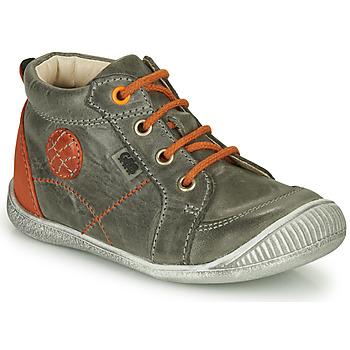 Παπούτσια Αγόρι Ψηλά Sneakers GBB OLAN Grey