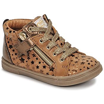Παπούτσια Κορίτσι Ψηλά Sneakers GBB VALA Brown
