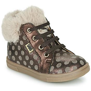 Παπούτσια Κορίτσι Ψηλά Sneakers GBB JUNA Brown