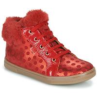 Παπούτσια Κορίτσι Ψηλά Sneakers GBB JUNA Red