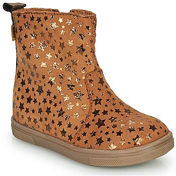 Παπούτσια Κορίτσι Μπότες GBB ERNA Cognac