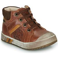 Παπούτσια Αγόρι Ψηλά Sneakers GBB OLANGO Brown