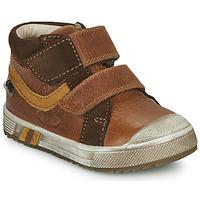 Παπούτσια Αγόρι Ψηλά Sneakers GBB OMALLO Brown