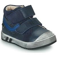 Παπούτσια Αγόρι Ψηλά Sneakers GBB OMALLO Μπλέ