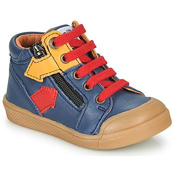 Παπούτσια Αγόρι Ψηλά Sneakers GBB IONNIS Μπλέ