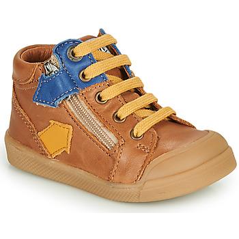 Παπούτσια Αγόρι Ψηλά Sneakers GBB IONNIS Brown