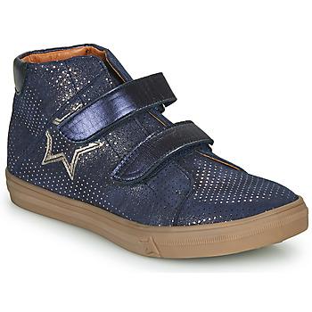 Παπούτσια Κορίτσι Ψηλά Sneakers GBB MAYMA Μπλέ