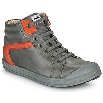 Παπούτσια Αγόρι Ψηλά Sneakers GBB IWEN Grey