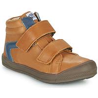 Παπούτσια Αγόρι Ψηλά Sneakers GBB KOLAN Brown