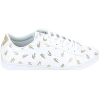 Παπούτσια Παιδί Χαμηλά Sneakers Lacoste Carnaby Evo C Blanc Or Άσπρο