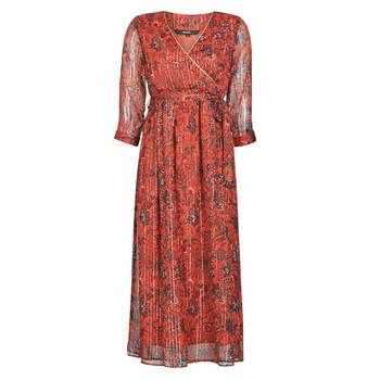 Υφασμάτινα Γυναίκα Μακριά Φορέματα Vero Moda VMGLAMMY Red