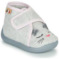 Παπούτσια Κορίτσι Παντόφλες GBB HELORIE Grey