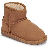 Παπούτσια Κορίτσι Μπότες Les Tropéziennes par M Belarbi FLOCON Camel