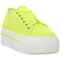 Παπούτσια Γυναίκα Χαμηλά Sneakers Windsor Smith RUBY CANVAS NEON YELLOW Giallo