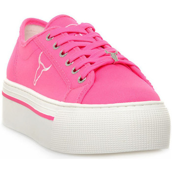 Παπούτσια Γυναίκα Χαμηλά Sneakers Windsor Smith RUBY CANVAS NEON PINK Rosa