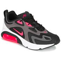 Παπούτσια Άνδρας Χαμηλά Sneakers Nike AIR MAX 200 Black / Ροζ
