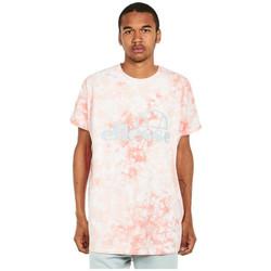 Υφασμάτινα Άνδρας T-shirt με κοντά μανίκια Ellesse T-shirt  Starezzo rose pâle/blanc