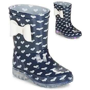 Παπούτσια Κορίτσι Μπότες βροχής Be Only AMOUR FLASH Marine