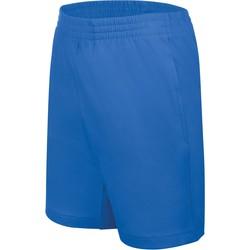 Υφασμάτινα Παιδί Σόρτς / Βερμούδες Proact Short enfant Jersey  Sport bleu marine