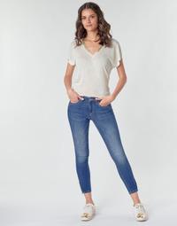 Υφασμάτινα Γυναίκα παντελόνι παραλλαγής Only ONLKENDELL Μπλέ / Medium