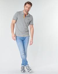 Υφασμάτινα Άνδρας Skinny Τζιν  Jack & Jones JJILIAM Μπλέ /  clair