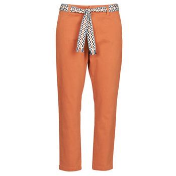Υφασμάτινα Γυναίκα Παντελόνια Chino/Carrot Vero Moda VMSVEA Brique