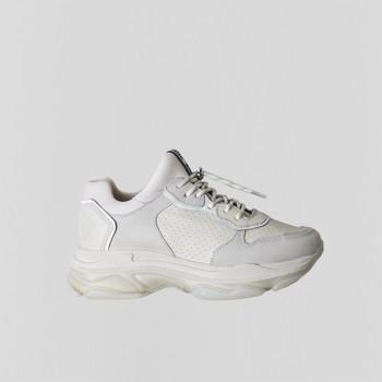 Παπούτσια Γυναίκα Χαμηλά Sneakers Bronx Chaussures femme  Baisley Suede blanc cassé
