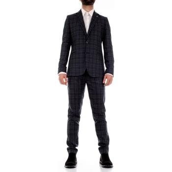 Υφασμάτινα Άνδρας Κοστούμια Mulish CBR-AB7200Q Blu