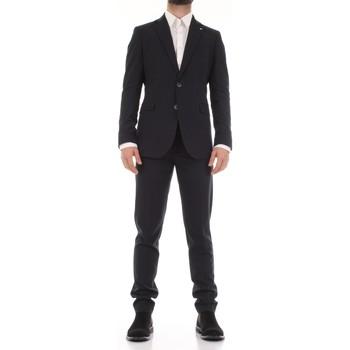 Υφασμάτινα Άνδρας Κοστούμια Mulish 50SPECIAL-AB7200 Blu