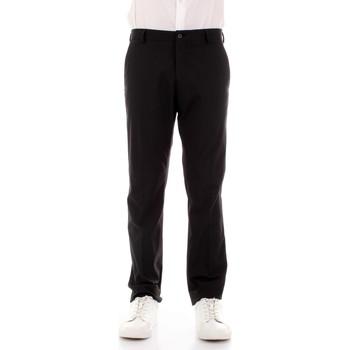 Υφασμάτινα Άνδρας Παντελόνια κοστουμιού Selected 16051390 Nero