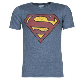 Υφασμάτινα Άνδρας T-shirt με κοντά μανίκια Casual Attitude SUPERMAN LOGO VINTAGE Marine