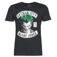 Υφασμάτινα Άνδρας T-shirt με κοντά μανίκια Casual Attitude INSANE JOKER Black