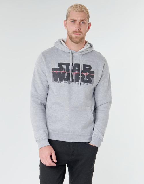 Υφασμάτινα Άνδρας Φούτερ Yurban Star Wars Bar Code Grey